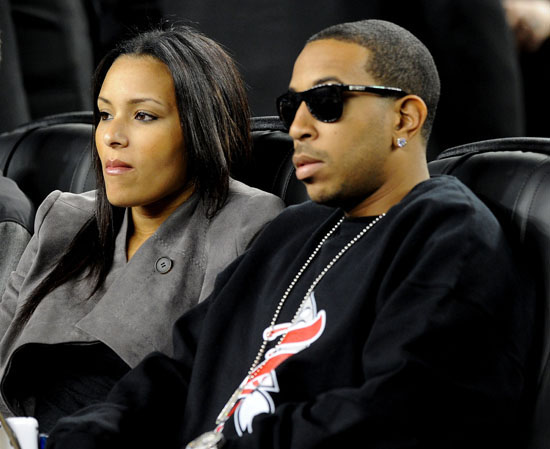 Ludacris And His New Girlfriend 2010 Nba All Star Game