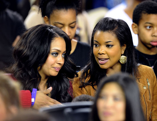 Lala Vazquez And Gabrielle Union 2010 Nba All Star Game