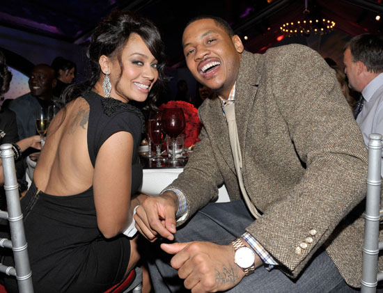 Carmelo Anthony And Lala Vazquez Save The Date For Their Summer