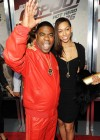 """Tracy Morgan and his guest // """"Cop Out"""" Movie Premiere in New York"""
