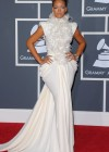 Rihanna // 52nd Annual Grammy Awards - Red Carpet