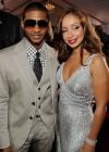 Usher & Mya // 52nd Annual Grammy Awards - Red Carpet
