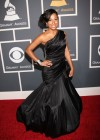 Melanie Fiona // 52nd Annual Grammy Awards - Red Carpet