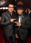 Lionel Richie & Ne-Yo // 52nd Annual Grammy Awards - Red Carpet
