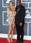 Heidi Klum & Seal // 52nd Annual Grammy Awards - Red Carpet