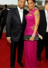 Mary J. Blige and her husband Kendu Isaacs // 52nd Annual Grammy Awards - Red Carpet