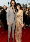 Katy Perry and her fiance Russell Brand // 52nd Annual Grammy Awards - Red Carpet