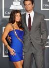 Fergie and her husband Josh Duhamel // 52nd Annual Grammy Awards - Red Carpet
