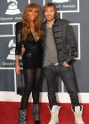 David Guetta and his wife Kathie // 52nd Annual Grammy Awards - Red Carpet
