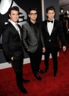 Kevin, Joe and Nick Jonas of the Jonas Brothers // 52nd Annual Grammy Awards - Red Carpet
