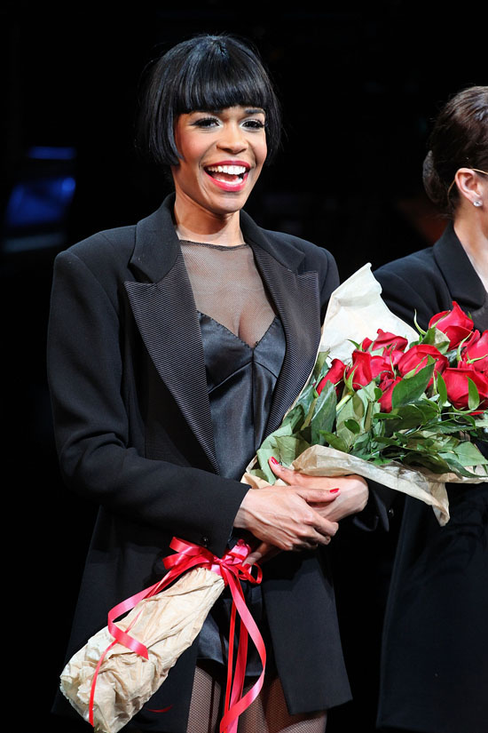 michelle williams in chicago on broadway at the