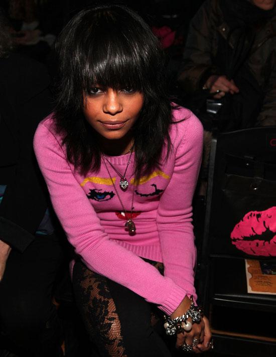 Chanel Iman Fashion Show
