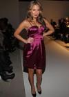 Adrienne Bailon // Water Fall/Winter 2010 Fashion Show during Mercedes-Benz Fashion Week in New York City