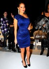 Adrienne Bailon // Bebe – Kardashian Fall/Winter 2010 Fashion Show during Mercedes-Benz Fashion Week in New York City