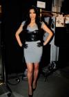 Kim Kardashian // Bebe – Kardashian Fall/Winter 2010 Fashion Show during Mercedes-Benz Fashion Week in New York City