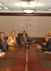 Tina Knowles, Beyonce, Jay-Z, Trey Songz and Kevin Liles  // Jay-Z's visits The White House