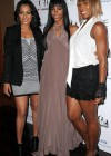 "LaLa Vazquez, Kelly Rowland & Serena Williams // Kelly Rowland's ""I Heart My Girlfriends"" Charity Launch Event"