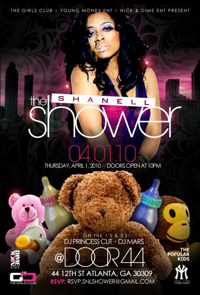 Shanell From Young Money Is Having A Baby Shower