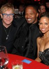 Elton John, Jamie Foxx and Stacey Dash // 18th Annual Elton John AIDS Foundation Oscar party