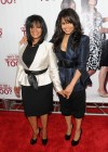 """Janet Jackson with her sister Rebbie // """"Why Did I Get Married Too?"""" Special Screening in New York City"""