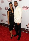"""Michael Jai White with his wife Courtenay Chatman // """"Why Did I Get Married Too?"""" Special Screening in New York City"""
