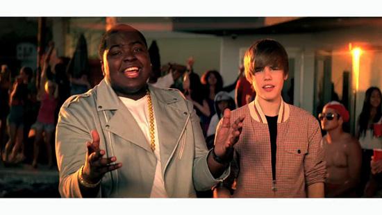 justin bieber eenie meenie. Justin Bieber and Sean