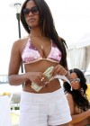 Teairra Mari poolside at a hotel in Miami Beach - April 23rd 2010