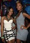 Teairra Mari & Eva Marcille at Club Play in Miami Beach, FL
