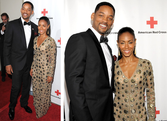 will smith wife red carpet. Actor Will Smith and his wife,