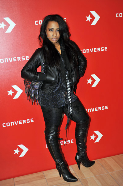 young money artist shanell converse tip off
