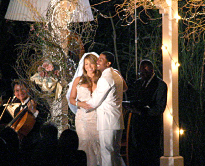 Mariah Carey & Nick Cannon Renew Vows In 3rd Wedding Ceremony