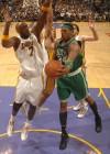 Paul Pierce (Celtics – #34) & Lamar Odom (Lakers – #7) // NBA Finals 2010 – Game 2: Los Angeles Lakers v. Boston Celtics