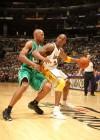 Ray Allen (Celtics – #20) and Kobe Bryant (Lakers – #24) // NBA Finals 2010 – Game 2: Los Angeles Lakers v. Boston Celtics