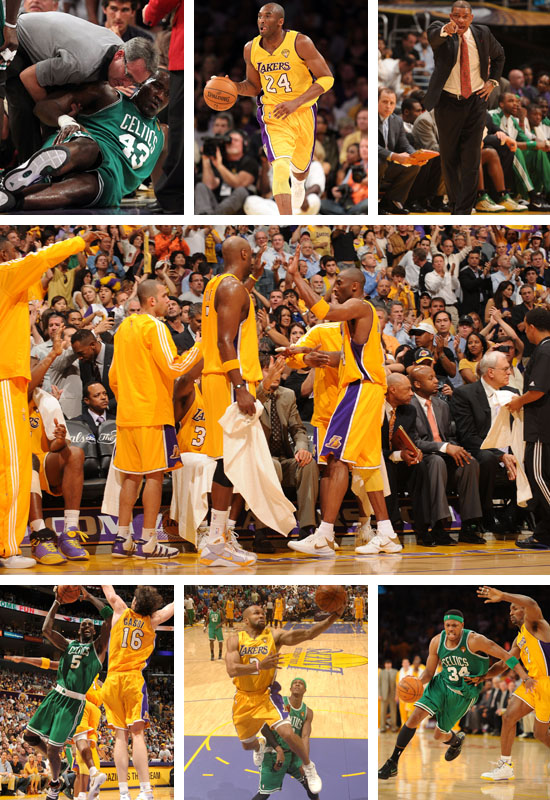 NBA Finals 2010: Game 6 - the Los Angeles Lakers Drowns the Boston Celtics and Ties the Series!