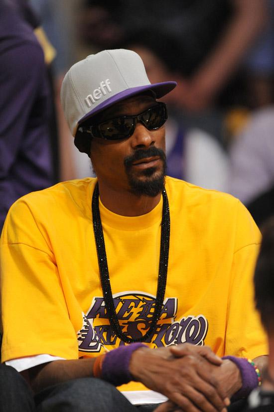 Snoop Dogg // 2010 NBA Finals 2010 - Game 6 - Los Angeles ...