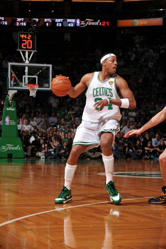 Paul Pierce (Celtics - #34) // NBA Finals 2010 - Game 3 ...