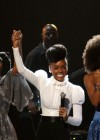 """Patti Labelle, Janelle Monae & Esperanza Spalding performing tribute to Prince who was honored with the """"Lifetime Achievement Award"""" // 2010 BET Awards"""