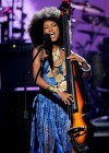 """Esperanza Spalding performing tribute to Prince who was honored with the """"Lifetime Achievement Award"""" // 2010 BET Awards"""