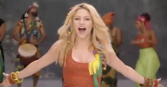 shakira husband 2010. Singer Shakira gets us all