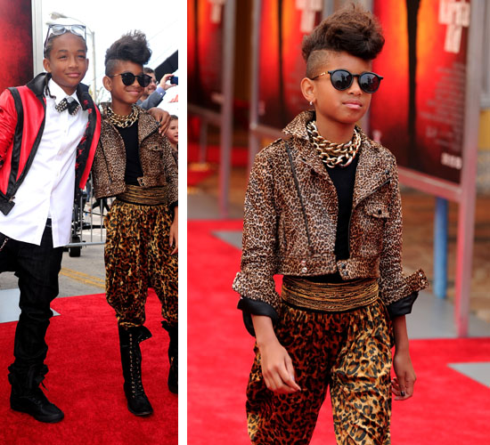 Young actress Willow Smith was