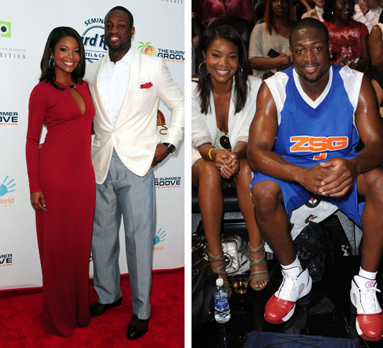 dwyane wade and gabrielle union. NBA star Dwyane Wade amp; his new