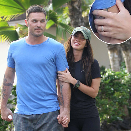 Megan Fox and Brian Austin Green Show Off Their New Wedding Rings