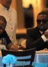 Jay-Z & Kanye West spotted eating dinner at Nello's restaurant in New York City – July 30th 2010