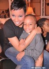 Monica with her son Lil' Rocko