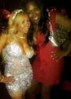 Tiny with Toya's stylist Leah Taylor // T.I. & Tiny's Wedding in Miami, FL - July 31st 2010