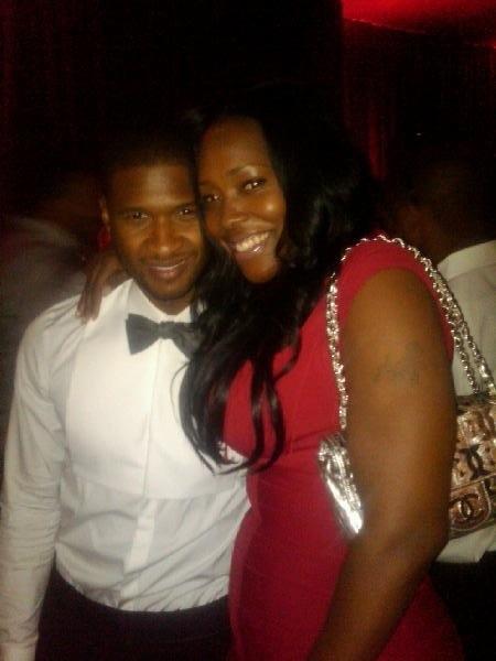Usher Toyas Stylist TI Tinys Wedding In Miami FL July 31st 2010