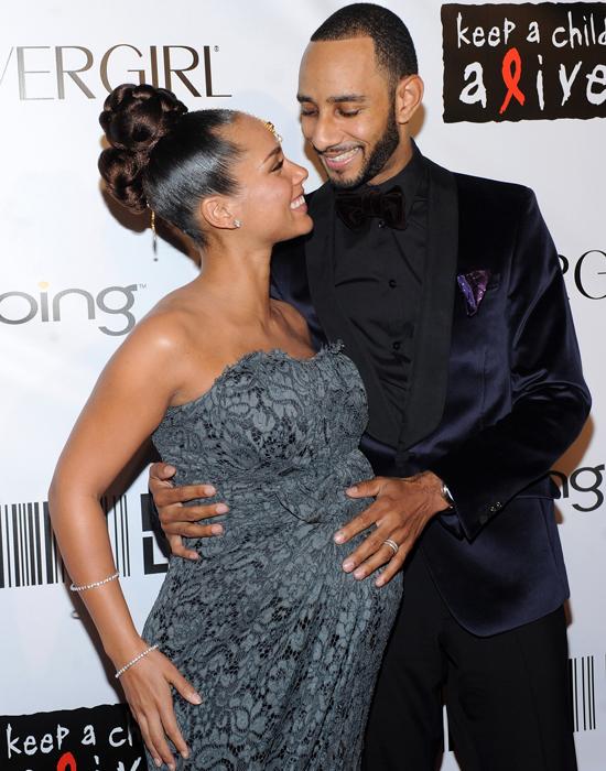 Confirmed: Alicia Keys & Swizz Beatz are Proud Parents to ... Alicia Keys