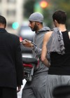 Swizz Beatz with his newborn son Egypt Daoud Dean