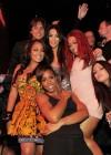 Kim Kardashian with Jonathan Cheban (Spin Crowd), Lala Vazquez, Kelly Rowland and Trina