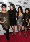 Kim Kardashian with her sisters Khloe & Kourtney, and their mom Kris Jenner